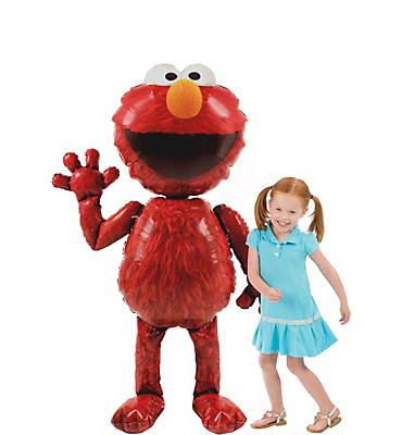 Giant Gliding Elmo Balloon 54in