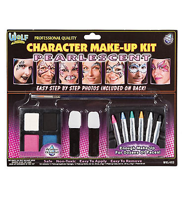 Pearlescent Face Painting Kit