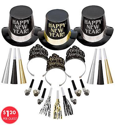 Kit For 50 - Elegant Celebration New Year's Party Kit