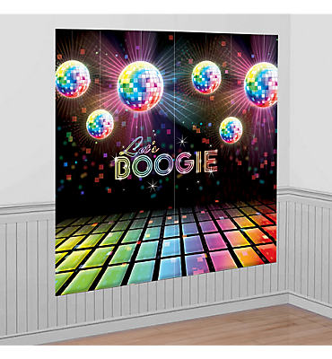 Disco Fever Scene Setter 2pc