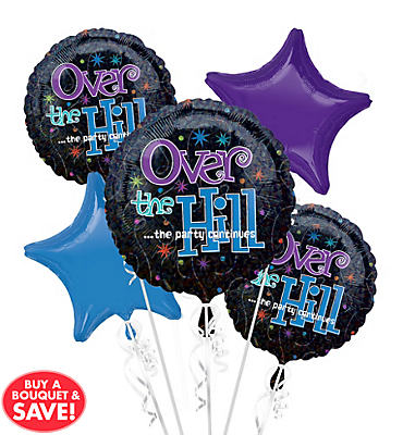 The Party Continues Balloon Bouquet 5pc