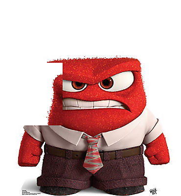 Anger Life-Size Cardboard Cutout - Inside Out