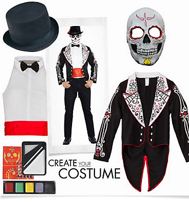 Men's Senor Day of the Dead