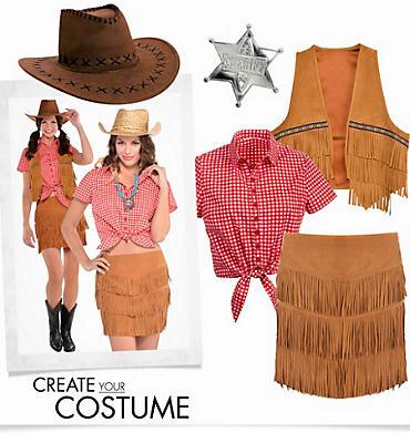Women's Fringe Cowgirl