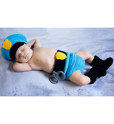 Baby Diaper Cover Police Costume