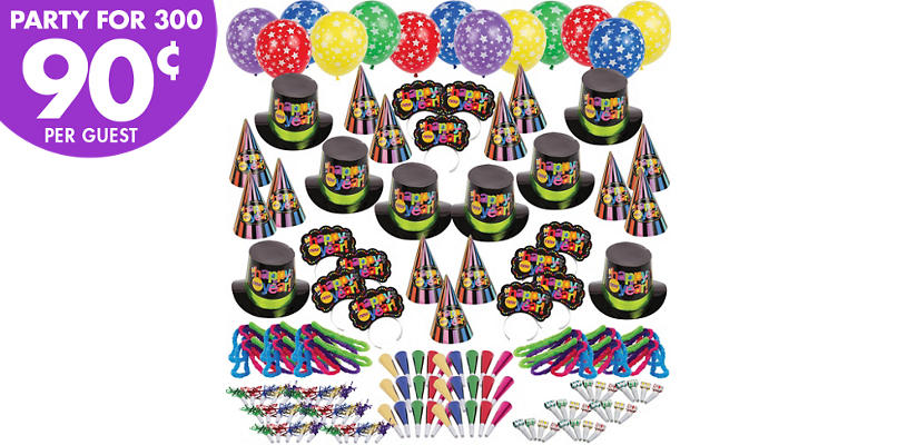 Kit For 300 - Bright Star New Years Party Kit