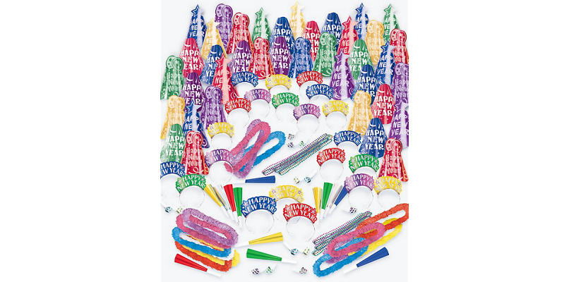 Kit For 300 - Fantasy - Colorful New Year's Party Kit