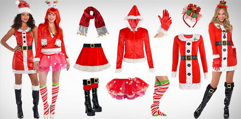 Women Santa Wearables