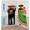 Fiesta Dancers and Mariachis Scene Setters 65in 2ct