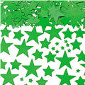 Metallic Festive Green Star Confetti 2 1/2oz