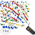 Confetti Party Poppers 12ct