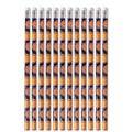 Playful Pumpkin Halloween Pencils 12ct