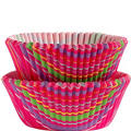 Snappy Stripes Cupcake Baking Cups 50ct