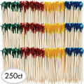 Party Frill Wooden Picks 240ct