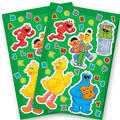 Sesame Street Stickers 2 Sheets
