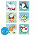 Frosty Pop-Layer Gift Tags 24ct