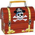 Pirate's Treasure Metal Box
