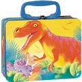 Prehistoric Dinosaurs Tin Box