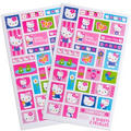 Hello Kitty Stickers 2 Sheets