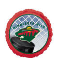 Foil Minnesota Wild Balloon 18in