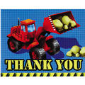 Under Construction Thank You Notes 8ct