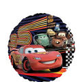 Foil Cars Happy Birthday Balloon 18in