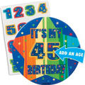 A Year to Celebrate Custom Birthday Button