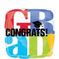 Foil Bravo Grad Graduation Balloon