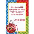 Backyard BBQ Custom Invitation