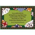 Poker Party Custom Invitation