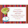 Holiday Buzz 2 Custom Christmas Invitation