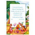 Pooh Birthday with Friends Custom Invitation
