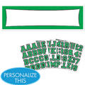 Green Personalized Banner
