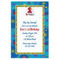 One-Derful Boy 1st Birthday Custom Invitation
