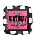 Foil Rocker Princess Birthday Balloon 18in
