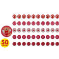Valentines Day Ball Puzzles 50ct