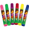 Dora the Explorer Markers 6ct