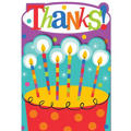 Perfect Time to Party Birthday Thank You Notes 8ct