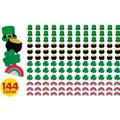 St. Patricks Day Erasers 144ct