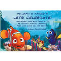 Nemo and Friends Custom Invitation