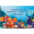 Nemo and Friends Custom Thank You Note
