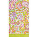 Pretty Paisley Hand Towels 16ct