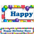 Balloon Fun Custom Birthday Banner