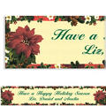 Holiday Botanical Custom Christmas Banner