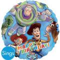 Happy Birthday Buzz Lightyear Balloon - Singing