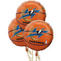 Washington Wizards Balloons 18in 3ct
