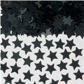 Mini Black Star Confetti 0.25oz