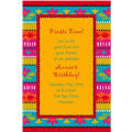 Fiesta Brights Custom Invitation