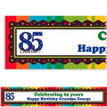A Year to Celebrate 85 Custom Banner 6ft