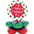 Christmas Balloon Centerpiece 22 1/2in